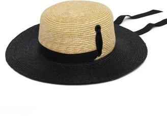 Women'S Straw Boater Hat