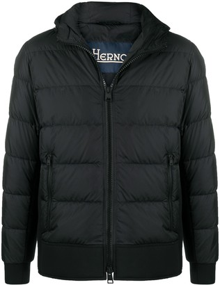Herno Down-Feather Hooded Jacket