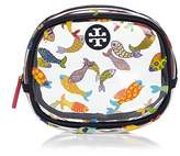 Tory Burch Fish Round Cosmetic Case