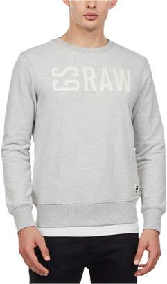 G Star Men Gsraw Logo Graphic Sweater