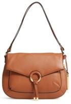 Vince Camuto Adina Leather Shoulder/crossbody Bag - Red