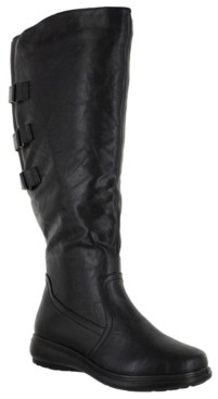 Easy Street Shoes Presley Wide-Calf Tall Boots Women's Shoes