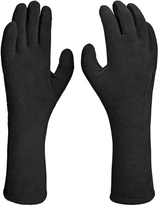 Nike Women's Black Cold Weather Fleece Gloves