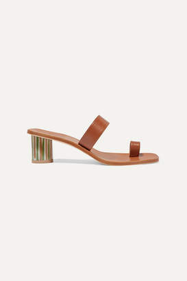 LOQ Tere Leather Sandals - Tan
