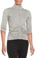 Calvin Klein Ruched Athletic Jacket