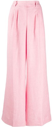 Remain High-Rise Wide-Leg Trousers