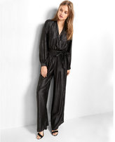 Express Wide Leg Surplice Jumpsuit