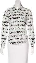 Kenzo Printed Button-Up Top