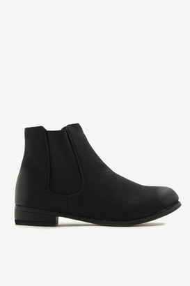 Ardene Faux Leather Chelsea Booties