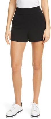 Alice + Olivia Donald High Waist Shorts