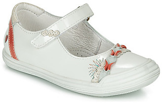 GBB MARION girls's Shoes (Pumps / Ballerinas) in White