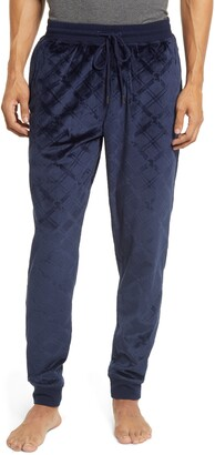 Daniel Buchler Diamond Cut Velour Lounge Pants