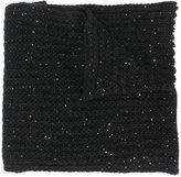 Nude chunky knit scarf - women - Acrylic/Polyester/Viscose/Alpaca - One Size