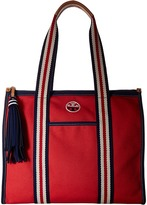 Tory Burch Embroidered-T Tote Tote Handbags