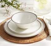 Pottery Barn Swirl Melamine Salad Plate, Set of 4