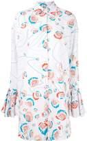 All Things Mochi floral print shirt