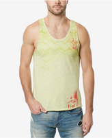 Buffalo David Bitton Men's Chevron Ombre Graphic Print Tank