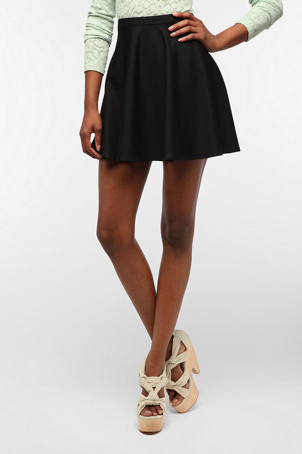 Urban Outfitters Coincidence & Chance Knit Circle Mini Skirt