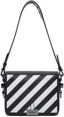 Off-White Black Diagonal Flap Bag
