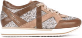 Jimmy Choo London sneakers - women - Leather/Nappa Leather/Suede/rubber - 35.5