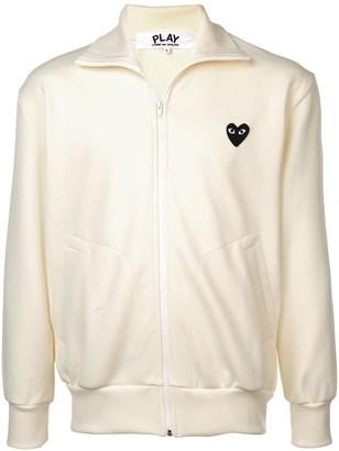 Comme des Garcons heart logo track jacket