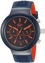 Lacoste Men's 2010813 BORNEO Analog Display Quartz Blue Watch