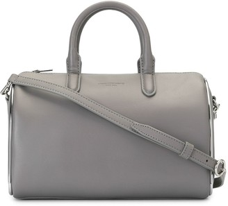 Alexander Wang Metallic-Trimmed Bowling Bag