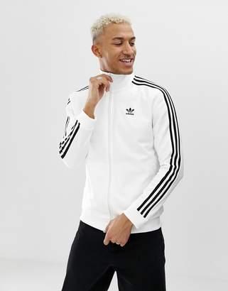 adidas Beckenbauer Track Jacket in white
