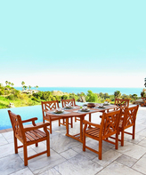 Malibu Extension Outdoor Dining Furniture Set