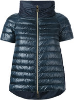 Herno short-sleeve puffer jacket - women - Feather Down/Polyamide/Polyester - 46