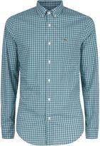 Lacoste Lacoste Slim Fit Mini Check Shirt