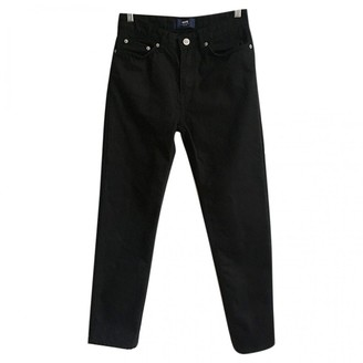 Wood Wood Black Cotton Jeans for Women
