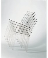 Kartell La Marie Chair (Set of 2 Color: Transparent Crystal Clear