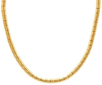 Gurhan 24kt gold Vertigo single strand necklace