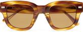 Acne Studios D-Frame Tortoiseshell Acetate Sunglasses
