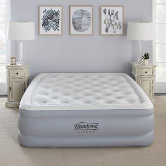 Simmons Silver 18 Queen EverFirm Adjustable Comfort Pillowtop Raised Air Bed Mattress