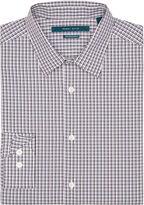 Perry Ellis Non-Iron Small Check Pattern Shirt