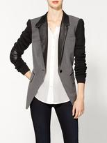 Cut 25 Melange Suiting Combo Blazer