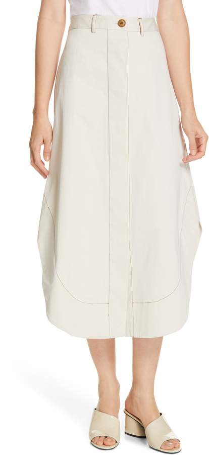 Stella Shirttail A-Line Skirt
