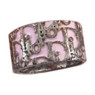 Christian Dior Pink Metal Rings