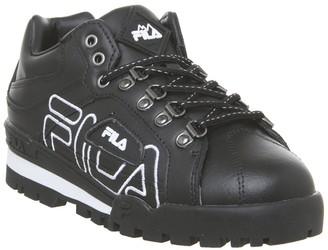 Fila Trail Blazer Trainers Black Black White F