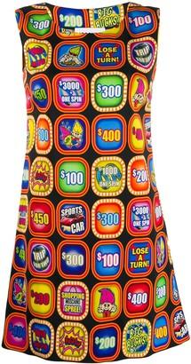 Moschino fruit machine print dress