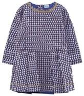 Mini A Ture Purple Geo Print Dress