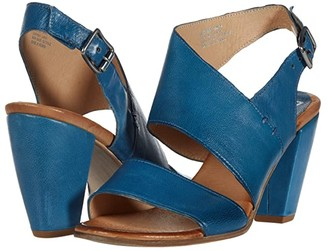 Miz Mooz Palmer (Denim Nappa) Women's Shoes