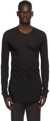 Rick Owens Black Basic Long Sleeve T-Shirt