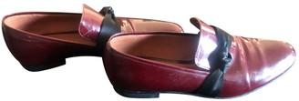 Sonia Rykiel Burgundy Patent leather Flats