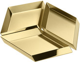 Ghidini 1961 - Axonometry Serving Tray - Set of 3 - Brass Cube - Grande