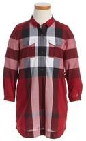 Burberry Girl's Darielle Check Shirtdress
