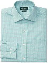 Lauren Ralph Lauren Men's Warren Classic/Regular Fit Non-Iron Plaid Dress Shirt