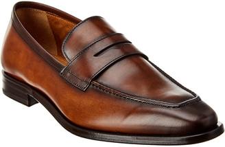 Antonio Maurizi Leather Penny Loafer